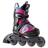K2 Kinder Inline Skates Marlee Pro - schwarz-blau-rosa -...