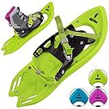 ALPIDEX Schneeschuh Kinder Schuhgröße 26 bis 38 bis 55 kg...