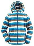 VAUDE Kinder Jacke Chipmunk Hoody, blue, 122/128, 03632