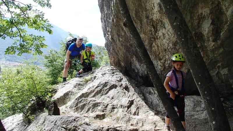 Klettersteig Colodri : L incompiuta colodri bergsteigen