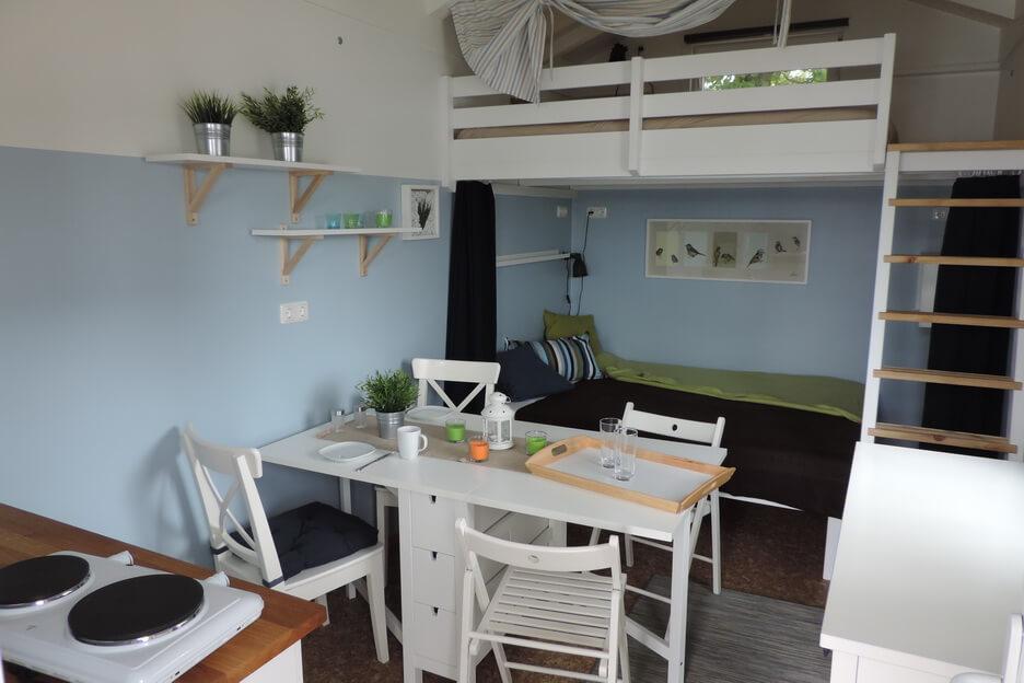 campingh uschen im skandinavischen stil ein traum f r kids. Black Bedroom Furniture Sets. Home Design Ideas
